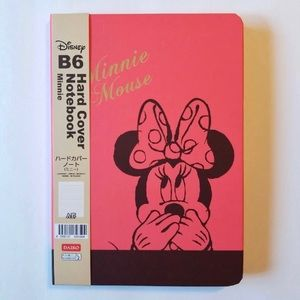 DISNEY MINNIE MOUSE HARDCOVER NOTEBOOK